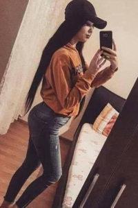 Genç eskort Bayan Ximena ile seks saatlerini tecrübe edin ayrıca anal hizmet de sunuyor